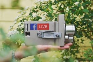real time marketing sprzęt do obsługi facebook live