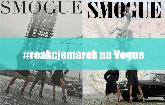 #Reakcjemarek (realtime marketing) na okładkę VOGUE